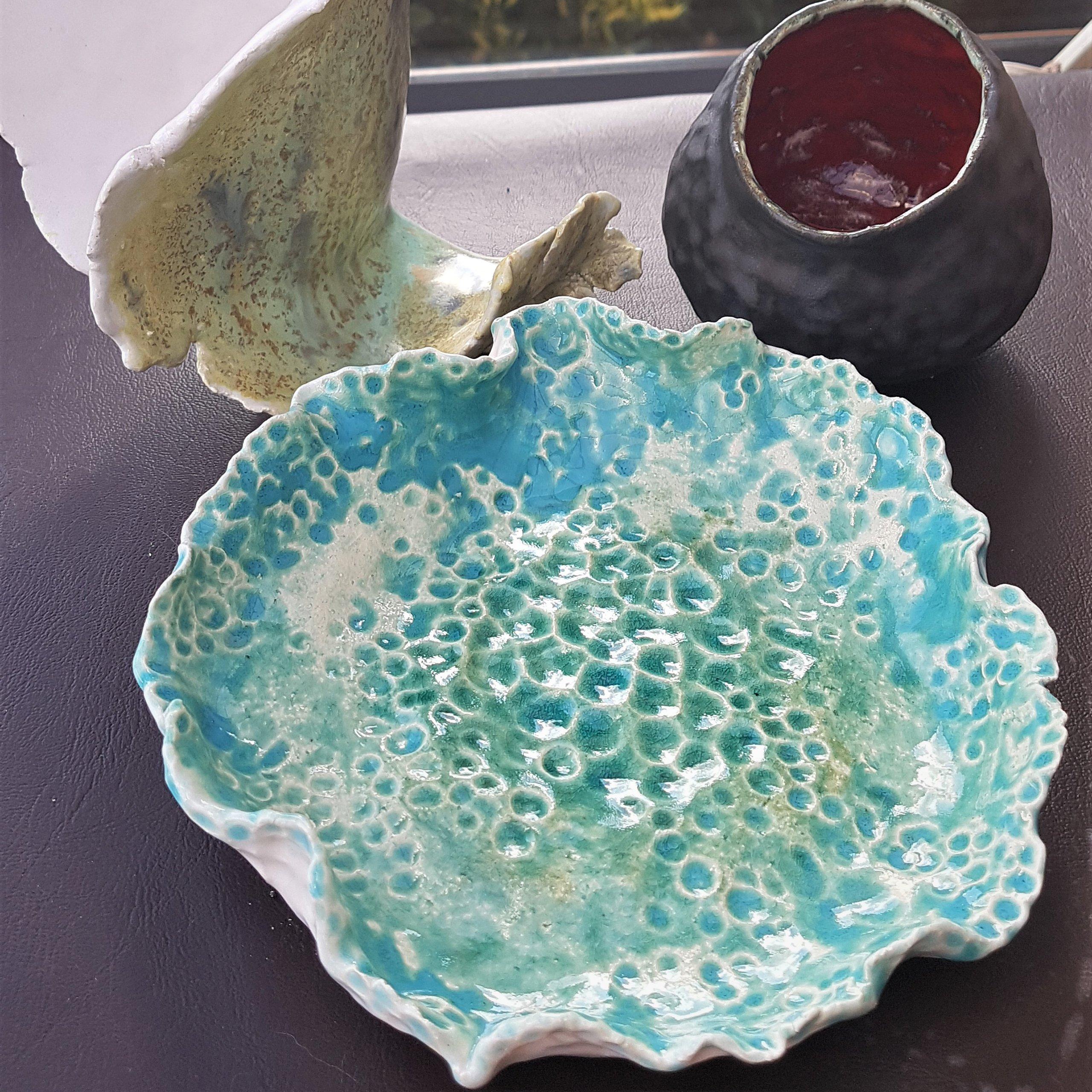 Glazed Flat Dish