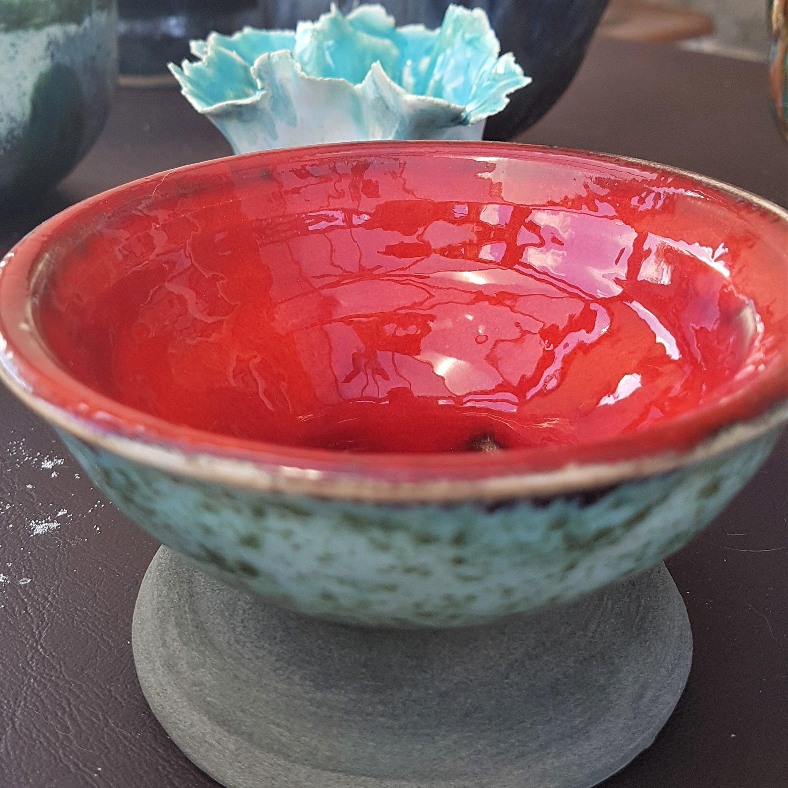 Red-Glazed Pot