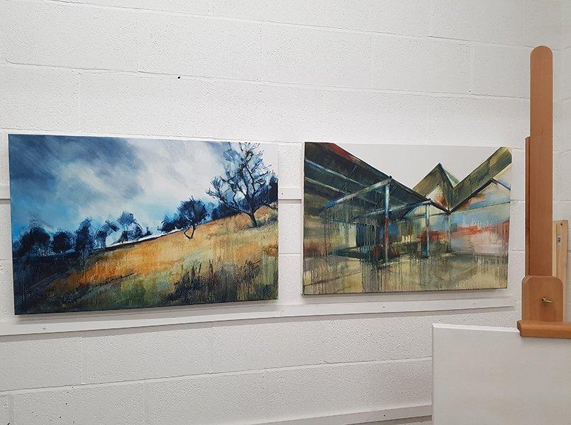 July 2020 New Paintings | Julia Brown