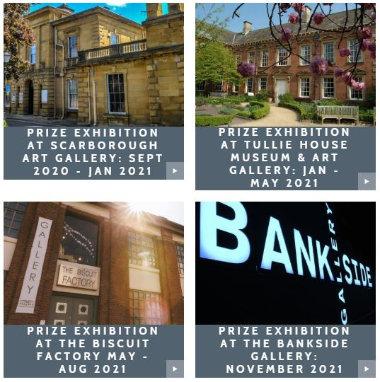 New Light Art Prize Exhibition Locations